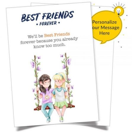 Sayings card friend best greeting Friendship Messages: